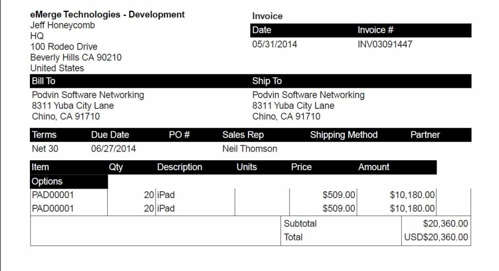NetSuite Invoice Consolidation