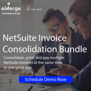 NetSuite-Invoice-Consolidation