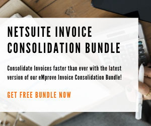 NetSuite Print Multiple Invoices