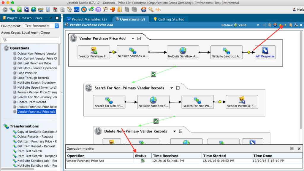 Jitterbit NetSuite Integration